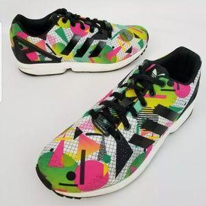 Adidas Womens ZX Flux Torsion 80s Design Tennis Sh